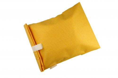 Yellow Houndstooth Bread Bag