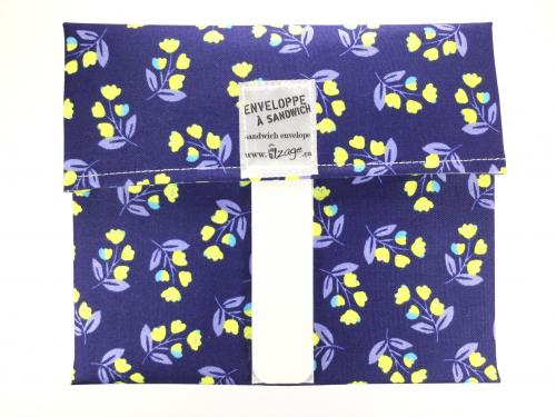 Yellow Flowers Envelope Wrap